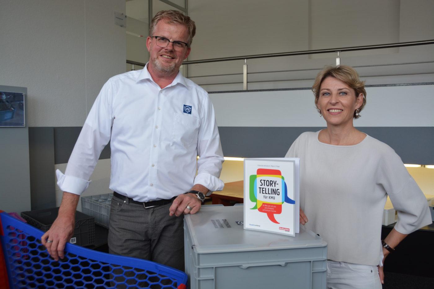 Storytelling für KMU, Bremgarter Bezirks-Anzeiger und Franziska Vonaesch